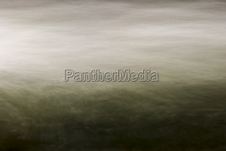long exposure of river waters misty