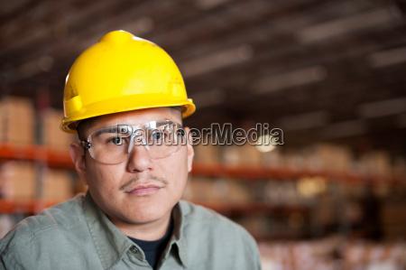 portrait of mid adult man wearing
