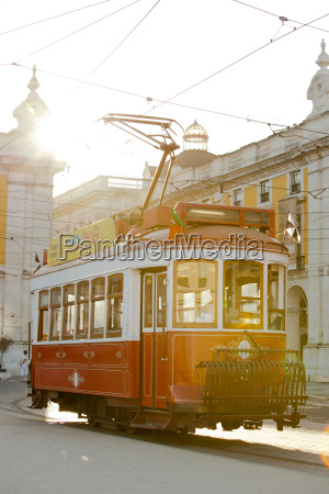 old trams are iconic on the