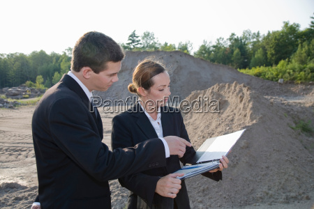 business people planning development