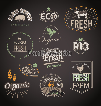 elements for organic and farm fresh