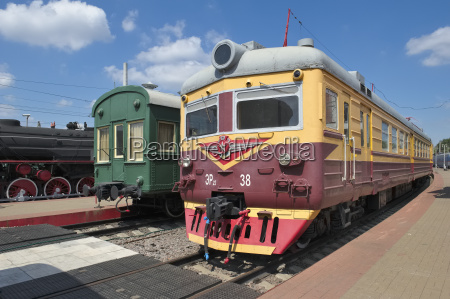 museum fuer eisenbahnverkehr der moskauer eisenbahn