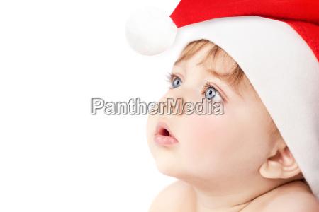 beautiful santa baby boy