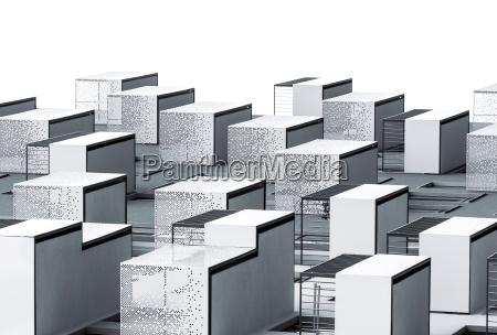 abstrakte architektur textur