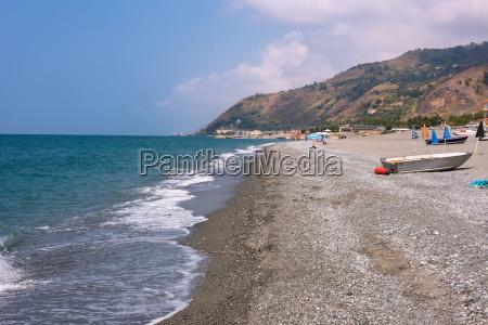 rocky beach in campora san giovanni