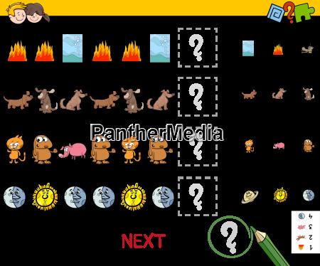 educational pattern game
