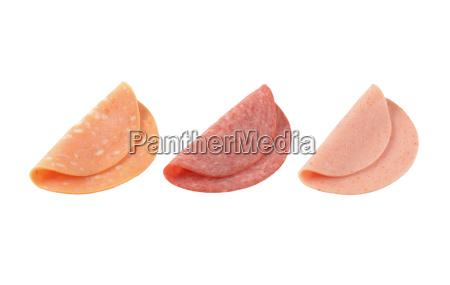thin deli meat slices