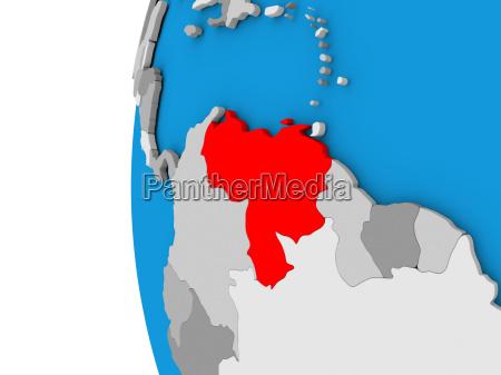 venezuela auf der welt