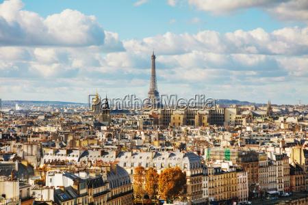 luftbild von paris