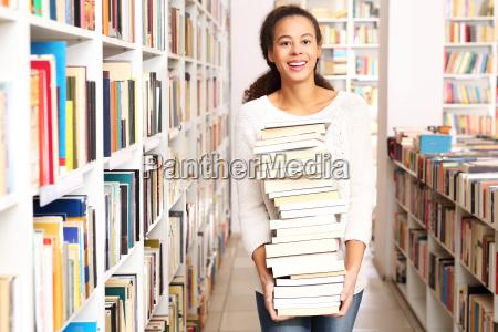 universitaetsbibliothek ausleihe der buecher in der