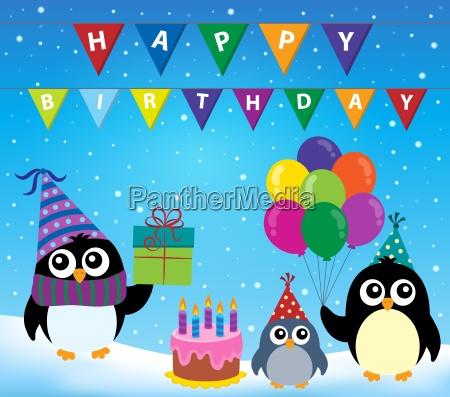 party pinguin thema bild 2
