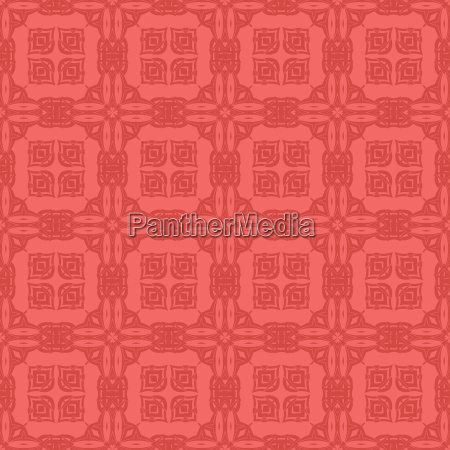 rote ornamentale nahtlose linie muster endlose