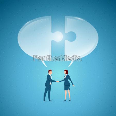 business konzept vektor illustration