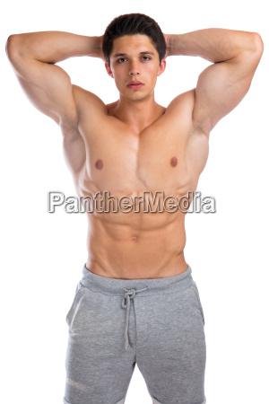 bodybuilder bodybuilding muskeln posen body building