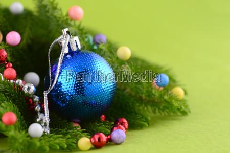 weihnachtsdekoration weihnachtskugel und ornamente mit dem