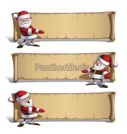 happy santas papyrus presenting set