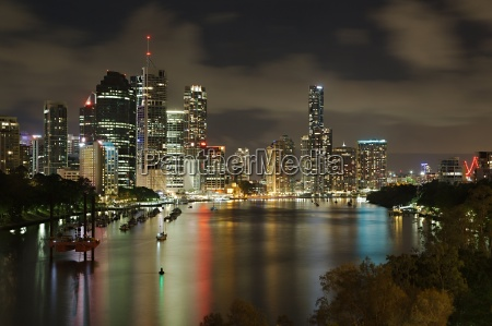 brisbane night view