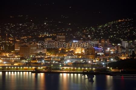 hobart night view