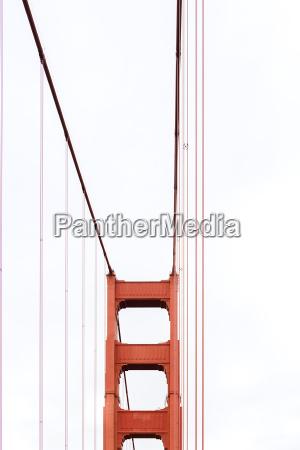 golden gate bridge pillar