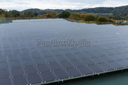 solar energy panel at outdoor