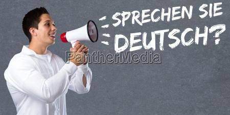 sprechen sie deutsch sprache sprachen lernen