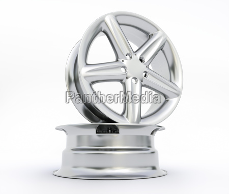 aluminum wheel image 3d high quality
