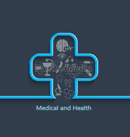 medizinisches und gesundheitliches konzept