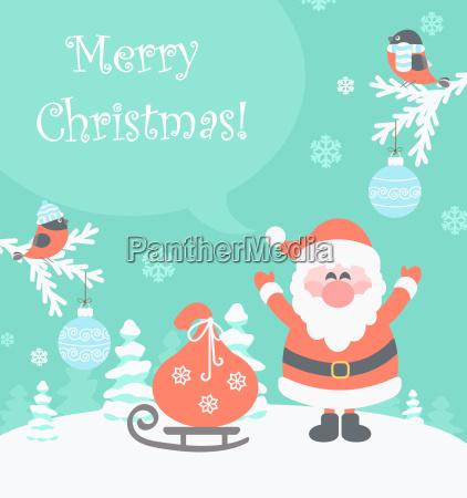 baum weihnachtszeit schneeflocke nachricht christmas landschaftsbild