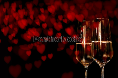 champagne for valentines day