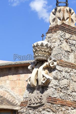 details von sagrada familia entworfen kirche