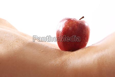 apple feminine figure of the body