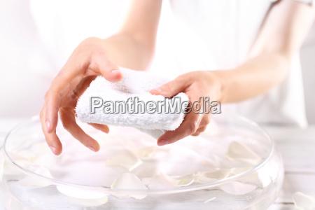 hygiene hand beautiful hands