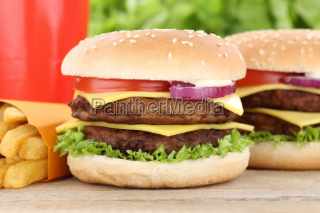 double cheeseburger hamburger menu menu menu