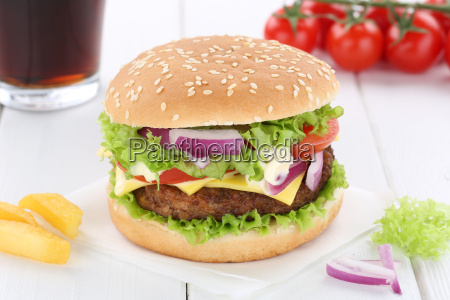 cheeseburger hamburger menu menu menu drink