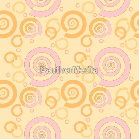 abstrakte geometrische nahtlose hintergrund regelmaessige spiralmuster