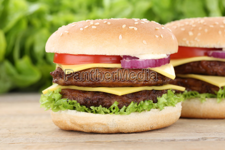 double cheeseburger hamburger fresh burger cheese