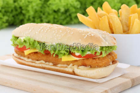 chickenburger chicken chicken burger hamburger with