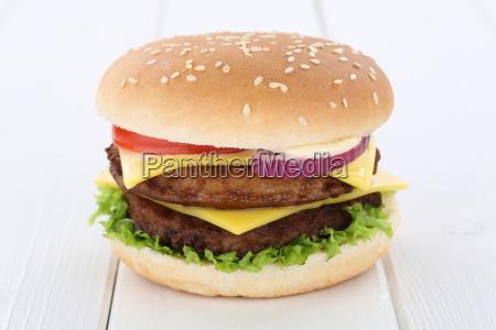 double cheeseburger hamburger cheese tomato salad