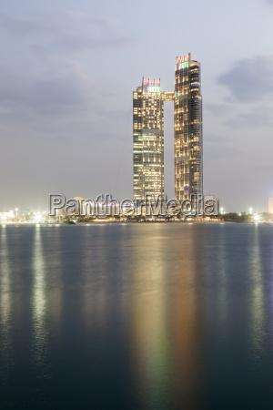 skyscraper in abu dhabi uae