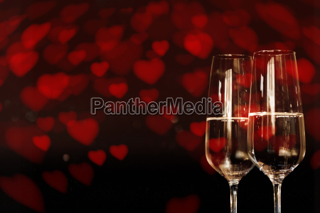 background for love greetings