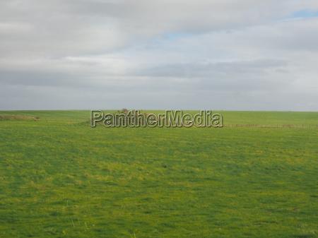 englisches landpanorama in salisbury