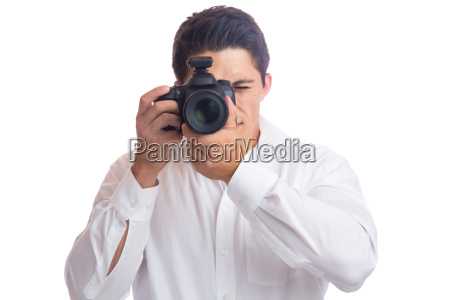young photographer photographing photography professional camera