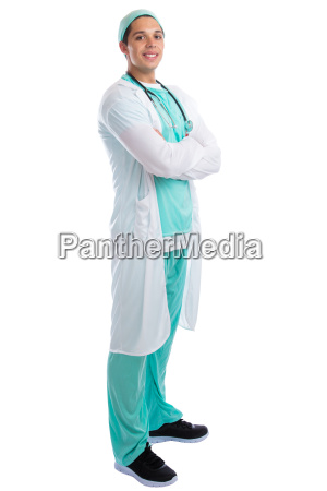 laughing doctor doctor professional standing full