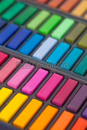 bunte farbpalette