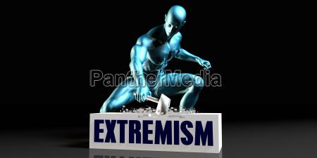 befreien sie sich von extremismus