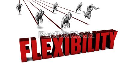 bessere flexibilitaet