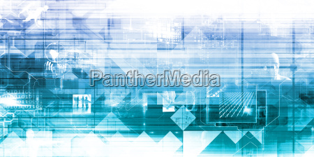 business technologie hintergrund