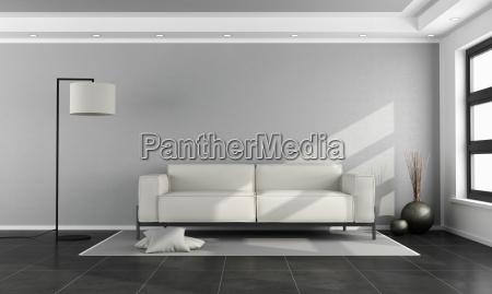 miniomalist wohnzimmer