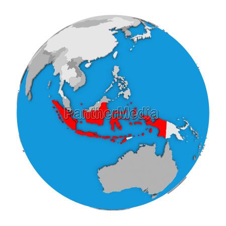 indonesien auf der welt