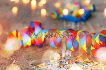 carnival background with bokeh